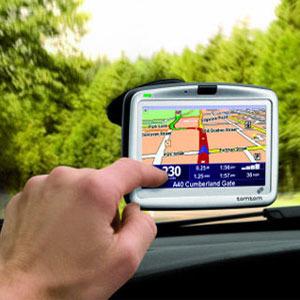 Coche con GPS